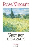 """Couverture du livre : """"Vert est le paradis"""""""