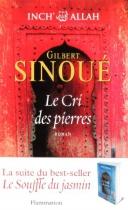 """Couverture du livre : """"Le cri des pierres"""""""