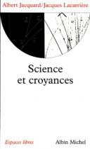 """Couverture du livre : """"Science et croyances"""""""