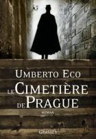 """Couverture du livre : """"Le cimetière de Prague"""""""