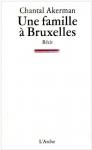 """Couverture du livre : """"Une famille à Bruxelles"""""""