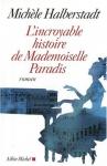 """Couverture du livre : """"L'incroyable histoire de Mademoiselle Paradis"""""""