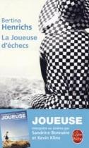 """Couverture du livre : """"La joueuse d'échecs"""""""