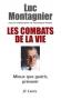 """Couverture du livre : """"Les combats de la vie"""""""
