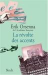 """Couverture du livre : """"La révolte des accents"""""""