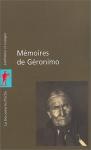 """Couverture du livre : """"Mémoires de Géronimo"""""""