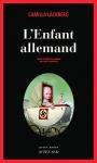"""Couverture du livre : """"L'enfant allemand"""""""