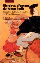 """Couverture du livre : """"Histoires d'amour du temps jadis"""""""