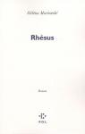 """Couverture du livre : """"Rhésus"""""""