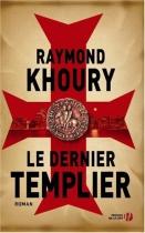 """Couverture du livre : """"Le dernier templier"""""""