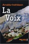 """Couverture du livre : """"La voix"""""""