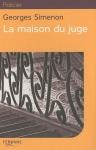 """Couverture du livre : """"La maison du juge"""""""