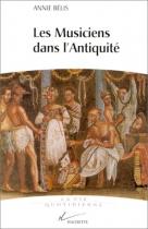 """Couverture du livre : """"Les musiciens dans l'Antiquité"""""""