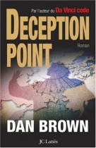 """Couverture du livre : """"Deception point"""""""