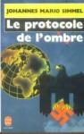 """Couverture du livre : """"Le protocole de l'ombre"""""""