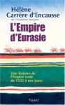 """Couverture du livre : """"L'empire d'Eurasie"""""""