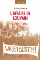 """Couverture du livre : """"L'affaire de Louvain"""""""
