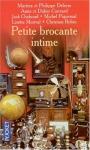 """Couverture du livre : """"Petite brocante intime"""""""