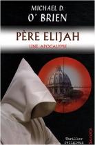 """Couverture du livre : """"Père Elijah"""""""