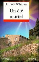 """Couverture du livre : """"Un été mortel"""""""