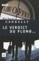 """Couverture du livre : """"Le verdict du plomb"""""""