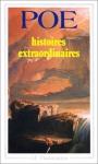 """Couverture du livre : """"Histoires extraordinaires"""""""