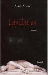 """Couverture du livre : """"Lapidation"""""""