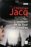 """Couverture du livre : """"L'assassin de la Tour de Londres"""""""