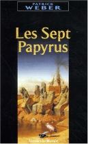 """Couverture du livre : """"Les sept papyrus"""""""