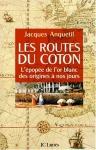 """Couverture du livre : """"Les routes du coton"""""""