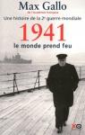 """Couverture du livre : """"1941, le monde prend feu"""""""
