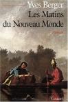 """Couverture du livre : """"Les matins du Nouveau Monde"""""""