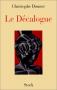 """Couverture du livre : """"Le décalogue"""""""