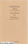 """Couverture du livre : """"Maître Hiram et le roi Salomon"""""""