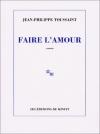 """Couverture du livre : """"Faire l'amour"""""""