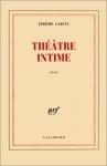 """Couverture du livre : """"Théâtre intime"""""""
