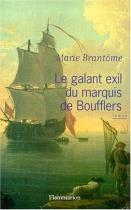 """Couverture du livre : """"Le galant exil du marquis de Boufflers"""""""