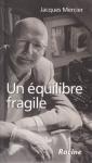 """Couverture du livre : """"Un équilibre fragile"""""""