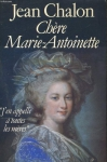 """Couverture du livre : """"Chère Marie-Antoinette"""""""