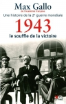 """Couverture du livre : """"1943, le souffle de la victoire"""""""
