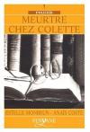 """Couverture du livre : """"Meurtre chez Colette"""""""