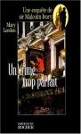 """Couverture du livre : """"Un crime trop parfait"""""""