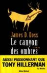 """Couverture du livre : """"Le canyon des ombres"""""""