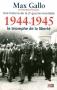 """Couverture du livre : """"1944-1945, le triomphe de la liberté"""""""