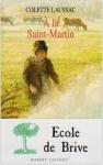 """Couverture du livre : """"À la Saint-Martin"""""""