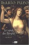 """Couverture du livre : """"Le sang des Borgia"""""""