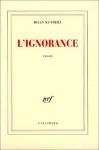 """Couverture du livre : """"L'ignorance"""""""