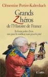 """Couverture du livre : """"Grands zhéros de l'Histoire de France"""""""