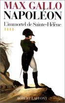 """Couverture du livre : """"L'immortel de Sainte-Hélène"""""""