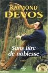 """Couverture du livre : """"Sans titre de noblesse"""""""